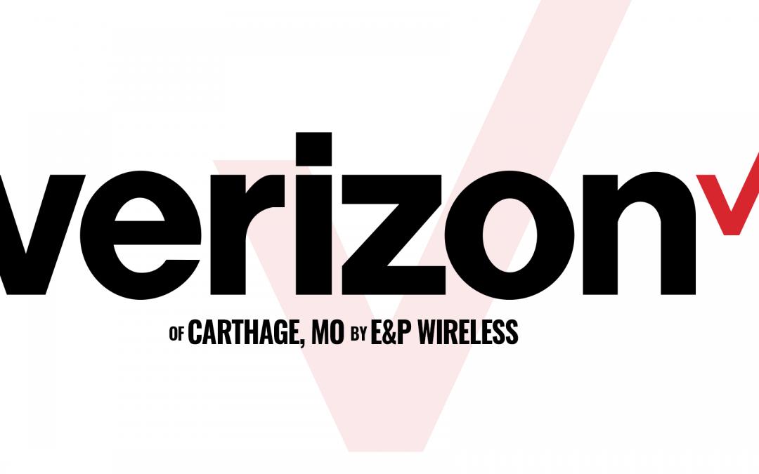 Verizon of Carthage, MO by E&P Wireless. A sponsor of The Gun Shop Show.