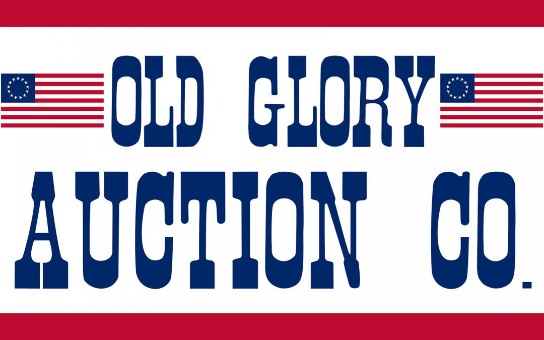 Old Glory Auction & Estate Sales. Sponsor of The Gun Shop Show.